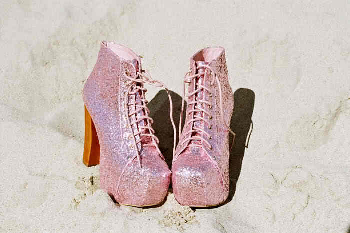 fashion, glitter, heels, high heels, nasty gal