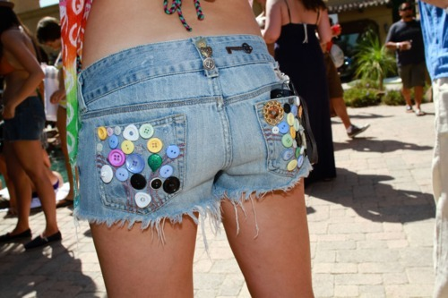 fashion, hipster, jeans, shorts, summer