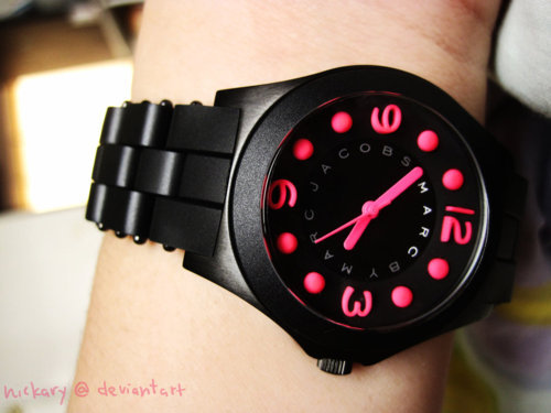 fashion, marc jacobs, pink, watch