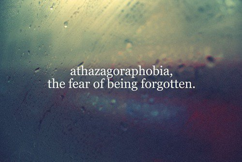 fear, forgotten, phobia