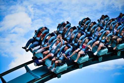 fun, photography, roller coaster