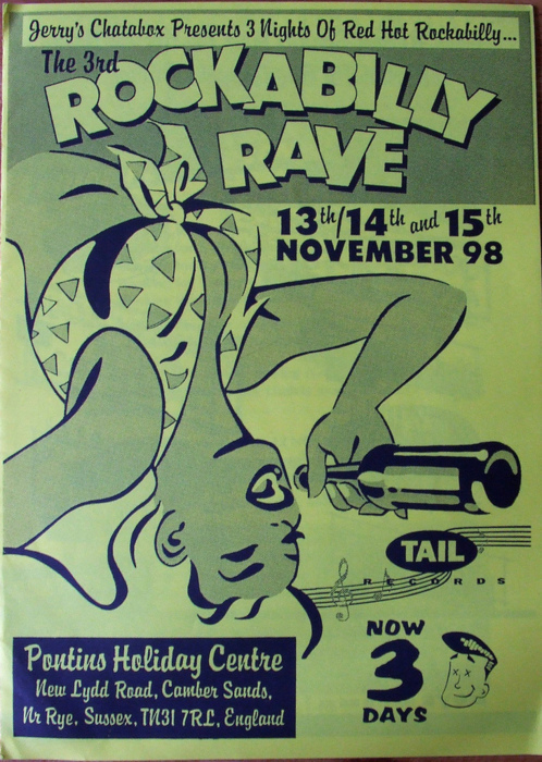 illustration, poster, rave, rockabilly, rockabilly girl