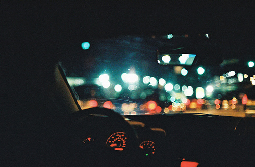 /tuesdayaffairs, bokeh, car, lights, photography