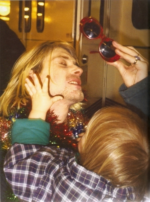 1994, christmas, frances bean, kurt cobain, love