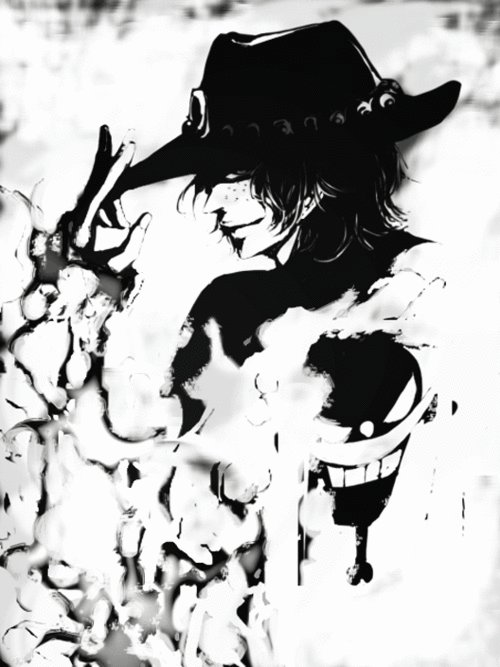 ace, anime, one piece