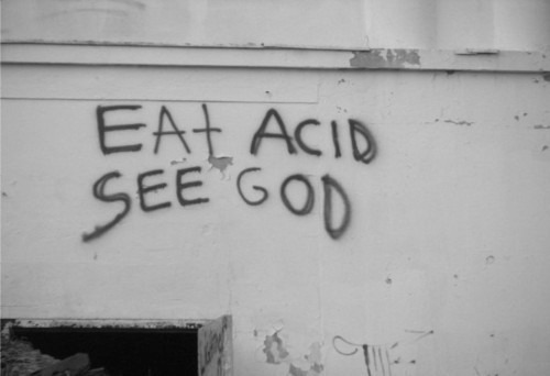 acid, god, writing