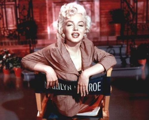 actress, beautiful, blonde hair, curly, marilyn monroe