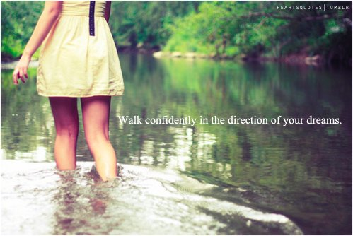 adventure, confidence, dream, dreams, explore, future, girl, happiness, happy, hope, life, outdoors, outside, positive, positivity, quote, saying, text, typography, walk, water, words