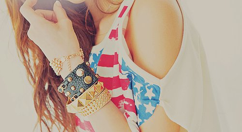 america, bracelets, color, colour, cute, elenaandlua, fashion, girl, hair, jewelry, love, separate with comma, stlye, summer, usa, vintage