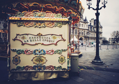 art, beautiful, carousel, carrousel, cute, fun, life, light, lights, outside, photography, pretty, street, sweet, vintage