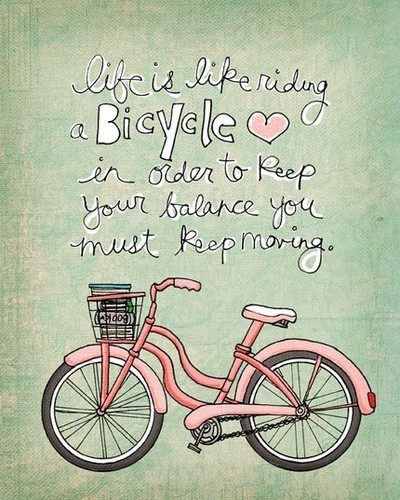 balance, bicycle, bike, calm, change, cute, deserve, drawing, happiness, happy, hope, life, love, okay, pink, positive, positivity, pretty, quote, saying, simple, text, typography, words