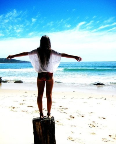 beach, girl, hair, separate with comma, sky, summer