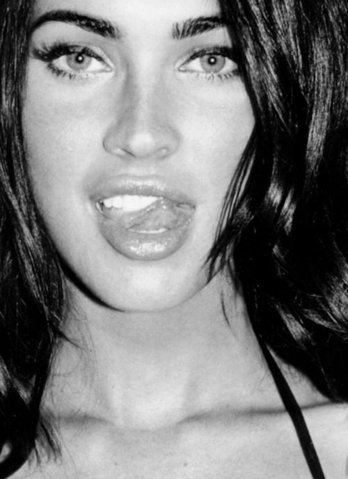 beautiful, beauty, black hair, eyebrows, eyes, fox, gorgeous, inspiring, lips, megan, megan fox, photography, pretty, stunning, teeth, terry richardson, tongue, wow