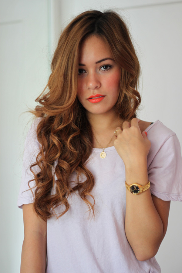 beautiful, beauty, blog, blogger, curls, desi, desiree, fashion, girl, gold, golden watch, teetharejade, watch, woman