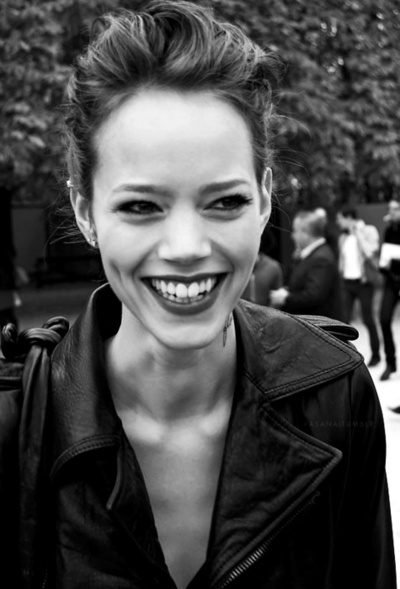 beautiful, beauty, dimples, freja, freja beha