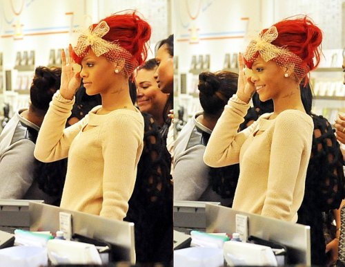 beautiful, chic, fashion, girl, pretty, red hair, rihanna, rinhanna, sexy, singer, smile