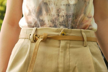 belt, h&m, jorika, pull & bear, shirt, shorts, summer, sunny, text