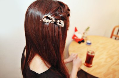 big bows, brown, cute, fashion, girl