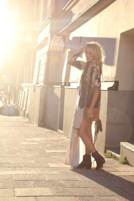 blonde, boho, boots, fashion, girl