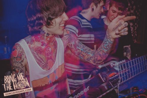 bmth, boy, bring me the horizon, cute, matt nicholls