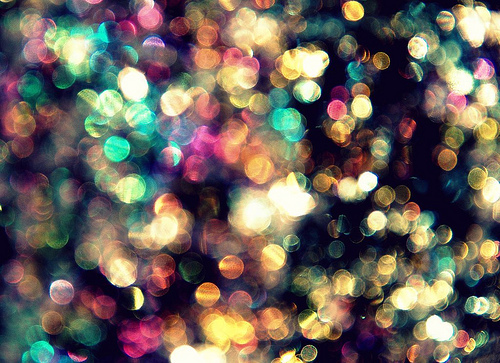 bokeh, colour, colours, dream, glitter