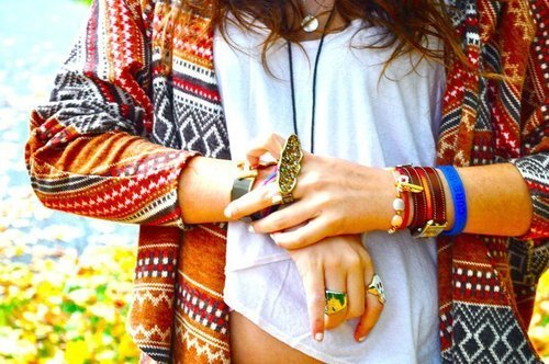 bracelets, brunette, color, colour, cute