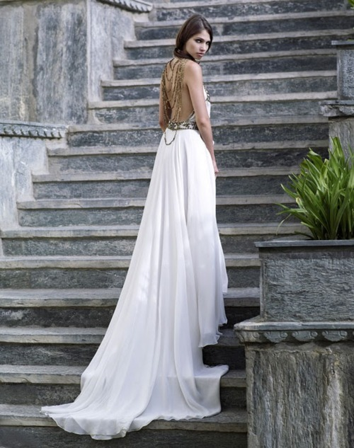 bride, dress, exotic, fashion, style