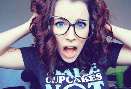 brunette, curly hair, fashion, glasses, hair