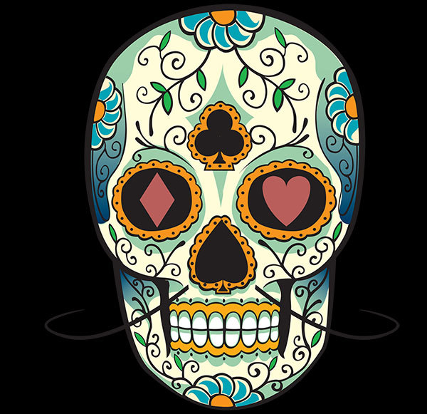 calavera, candy, love, mexican skull, tattoos