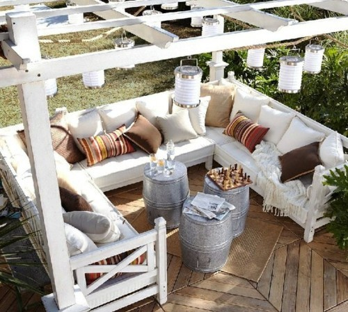 calm, couch, decor, design, happy, outdoors, outside, patio, peaceful, pillows, porch, relax, room, simple, sun, sun room, sunny, veranda