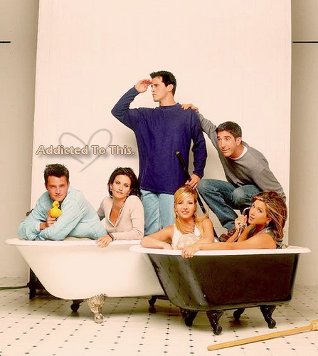 chandler, friends, jennifer aniston, joey, monica