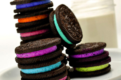 colorful, cookies, cute, food, oreo