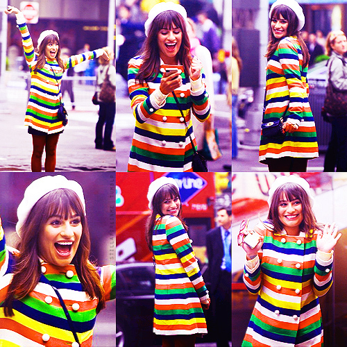 colours, cute, glee, glee cast, lea michele