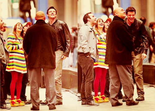 cory monteith, finchel, finn hudson, glee, glee cast