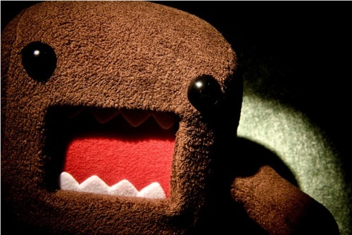 cute, domo, separate with comma