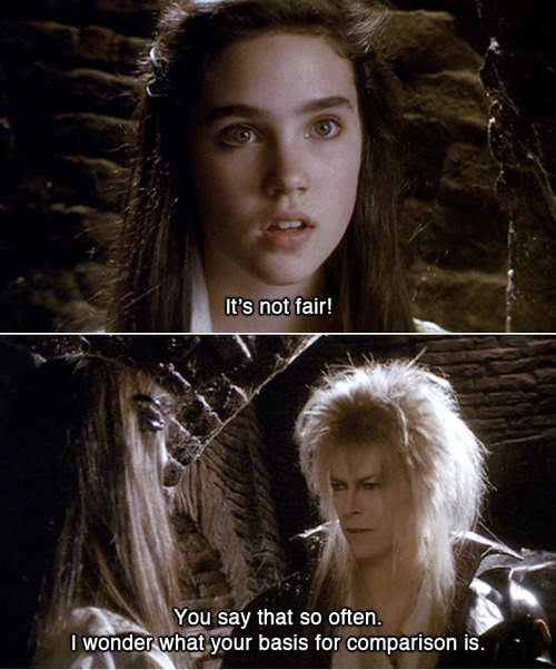David Bowie And Jennifer Connelly Labyrinth Labyrinth Movie Quotes Jareth