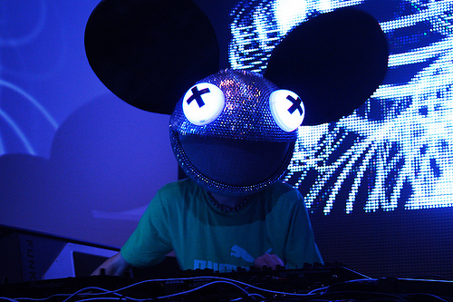 deadmau5, rave, techno
