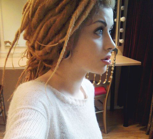 White Girls with Dreads Tumblr