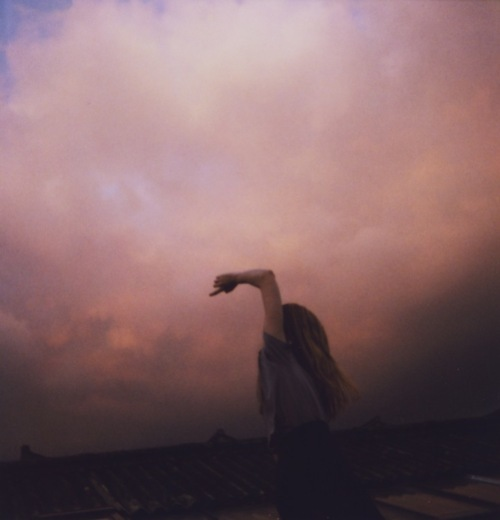 dreamy, dusk, girl, heaven, night