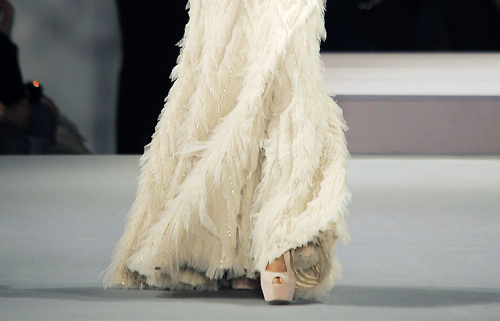 dress, elie saab, fashion, fur