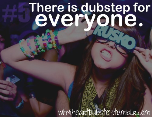 dubstep, girl, rave, rusko, why i heart dubstep
