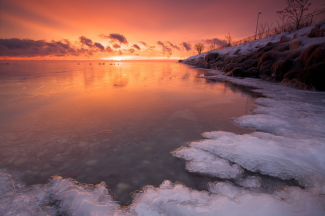 durj, ice, lake, nature, vyer