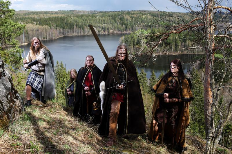 ensiferum, finland, grass and hunter