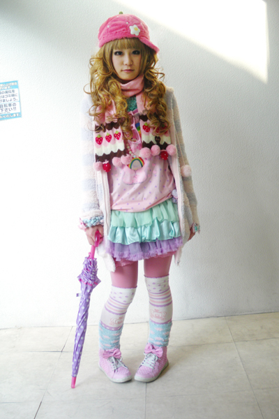 fairy kei, fashion, girl, harajuku, japanese