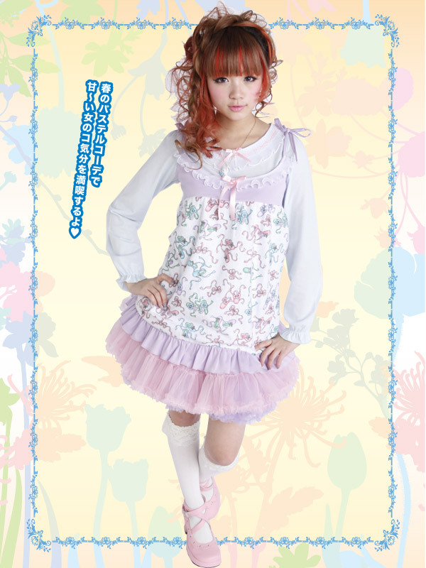 fairy kei, fashion, girl, japanese, kawaii