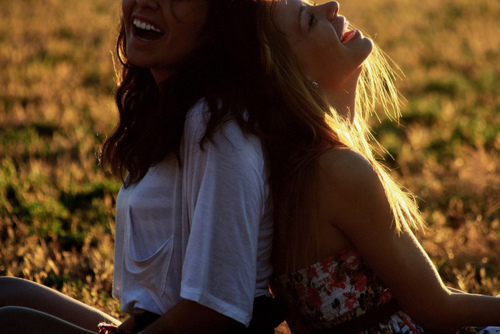 friends, fun, girl, laugh, nature