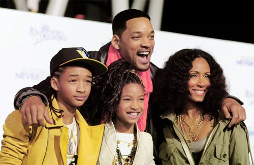 jaden smith, smith, smith family , will smith, willow smith 