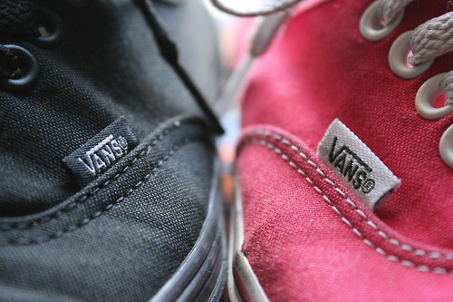 love, photo, red and black, shoes, vans