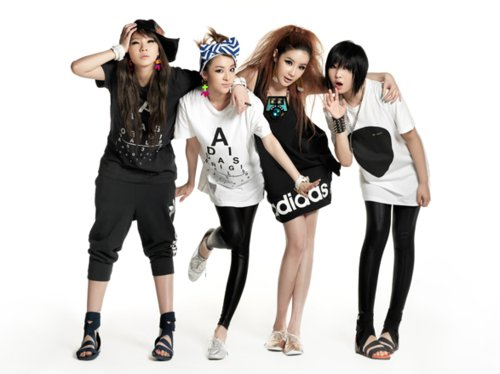 2ne1, adidas, asian, dara, girls, korean, kpop, minzy, nice, park bom, sandara