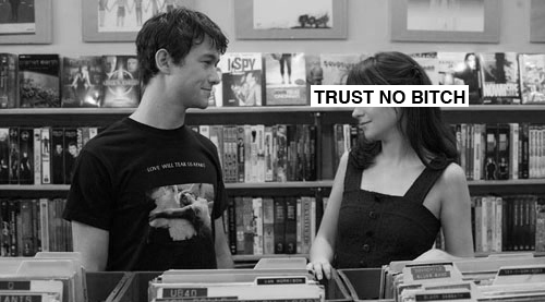 (500) days of summer, 500 days of summer, bitch, black and white, funny